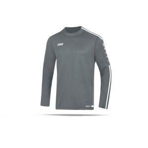 jako-striker-2-0-sweatshirt-kids-grau-weiss-f40-fussball-teamsport-textil-sweatshirts-8819.png