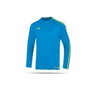 jako-striker-2-0-sweatshirt-kids-blau-gelb-f89-fussball-teamsport-textil-sweatshirts-8819.png