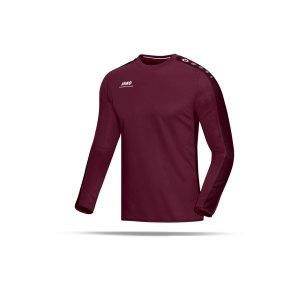 jako-striker-sweatshirt-kinder-teamsport-ausruestung-mannschaft-f14-dunkelrot-8816.png