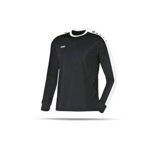 jako-striker-trikot-langarm-kids-schwarz-f08-jersey-teamsport-vereine-mannschaften-kinder-children-4306.png