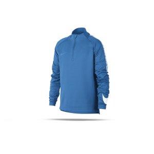 nike-dry-football-drill-top-1-4-zip-kids-blau-f481-kinder-training-langarmshirt-swoosh-kurzreissverschluss-859292.png