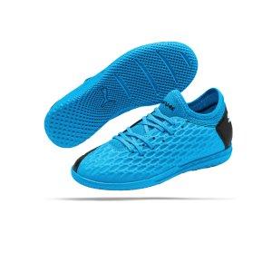 puma-future-5-4-it-halle-kids-blau-schwarz-f01-fussball-schuhe-kinder-halle-105814.png