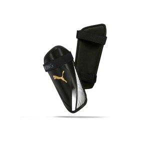 puma-king-es2-schienbeinschoner-schwarz-weiss-f01-equipment-schienbeinschoner-030771.png