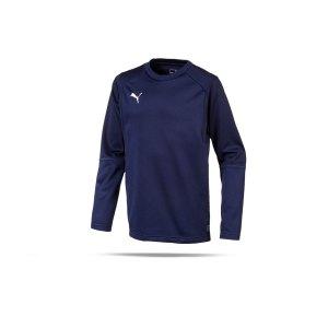 puma-liga-training-sweatshirt-kids-blau-f06-teampsort-mannschaft-ausruestung-655670.png