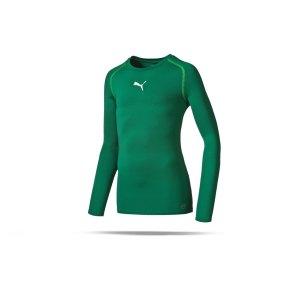 puma-tb-longsleeve-shirt-underwear-langarm-teamsport-kids-kinder-gruen-f05-654863.png