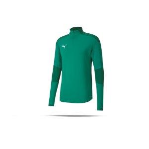 puma-teamfinal-21-training-1-4-zip-top-gruen-f05-fussball-teamsport-textil-sweatshirts-656475.png