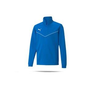 puma-teamrise-halfzip-sweatshirt-kids-blau-f02-657395-teamsport_front.png