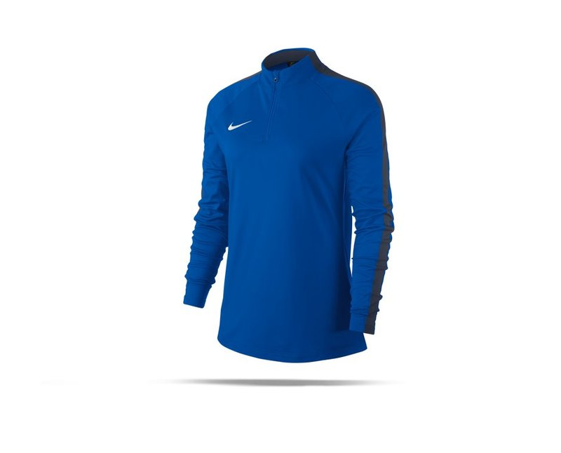 NIKE Academy 18 Drill Top Sweatshirt Damen (463) - blau