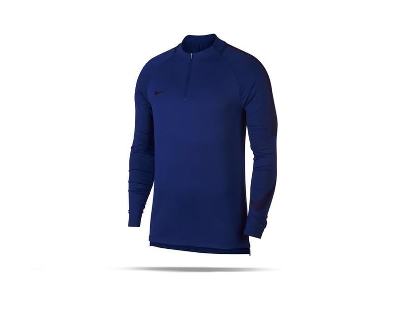 NIKE Dry Squad Drill Top Sweatshirt (457) - blau