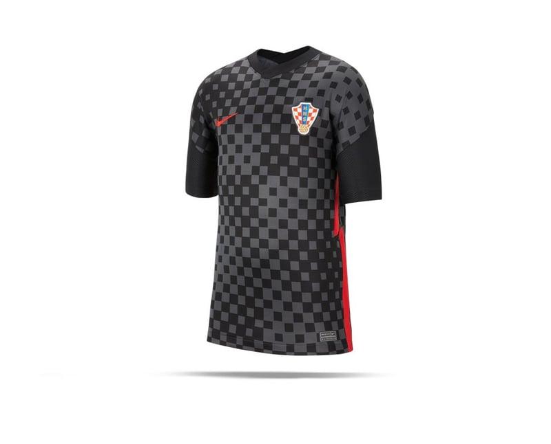Nike Kroatien Trikot Away EM 2020 Kids Grau (060) - grau