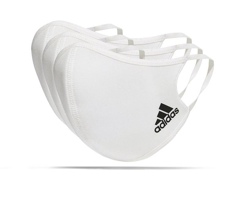 adidas Gesichtsmaske Gr. L 3er Set (H34578) - weiss