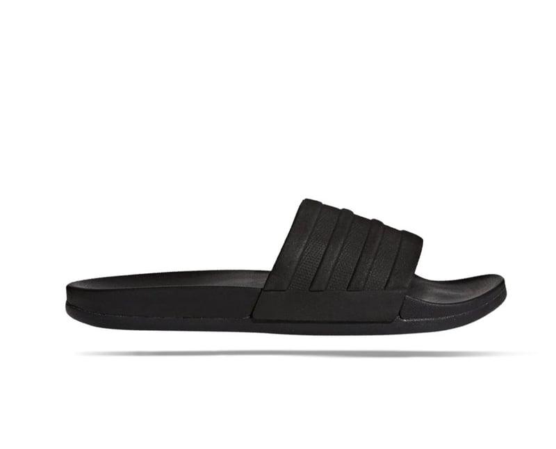 adidas CF Plus Adilette Badelatschen (S82137) - schwarz