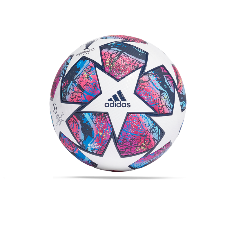 adidas CL Finale Istanbul Pro OMB Spielball (FH7343) - Weiß