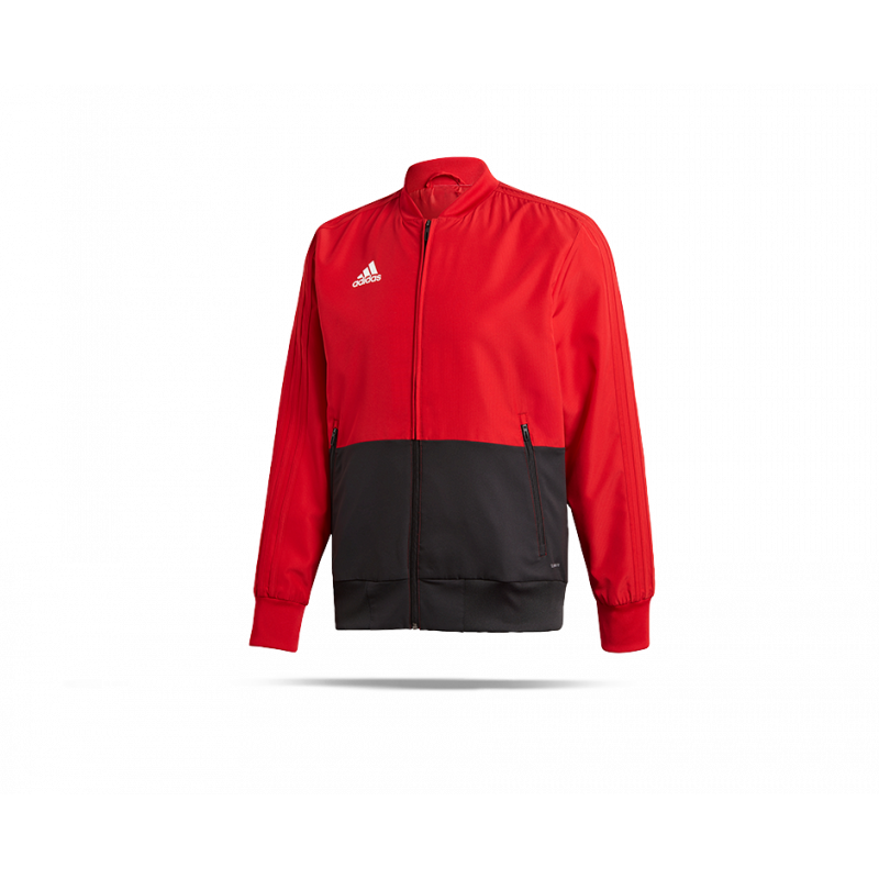 adidas Condivo 18 Präsentationsjacke (CF4308) in Rot