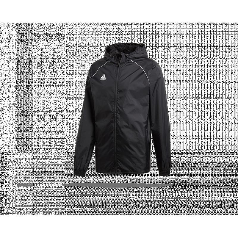 adidas Core 18 Rain Jacket Jacke (CE9048) - Schwarz