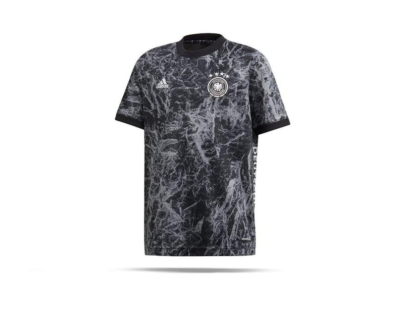 adidas DFB Deutschland Prematch Shirt Kinder (FS2348) - schwarz