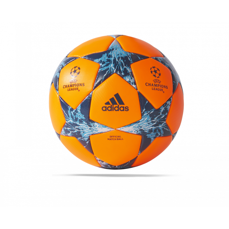 adidas UCL Finale 17 Cardiff OMB Spielball Gr. 5 (BS2976) - Orange
