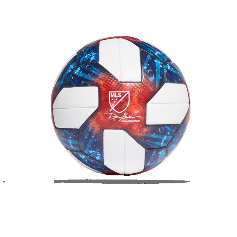 adidas MLS OMB Spielball (DN8698) - Weiß