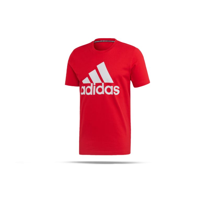 adidas Must Haves BOS Tee T-Shirt (FL3943) - Rot