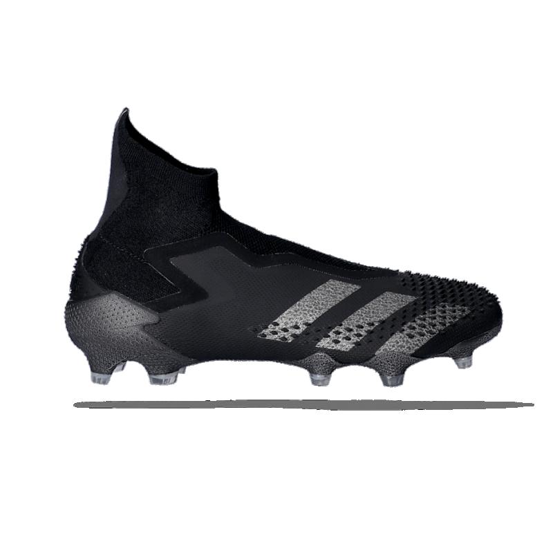 adidas Predator 20+ FG (EF1563) - Schwarz