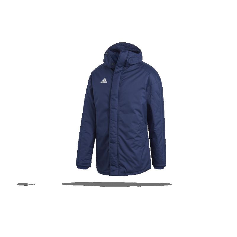 adidas Stadium Parka 18 Jacke (CV8273) - Blau