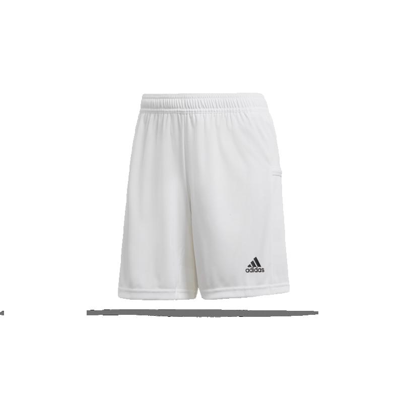 adidas Team 19 Knitted Short Damen (DW6883) - Weiß