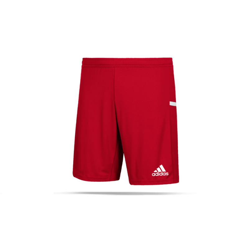 adidas Team 19 Knitted Short (DX7291) - Rot