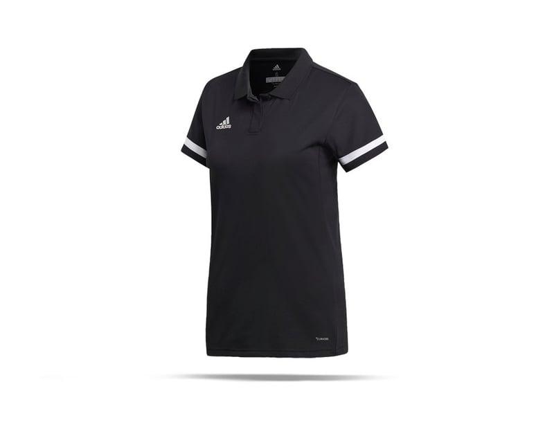 adidas Team 19 Poloshirt Damen (DW6877) - schwarz
