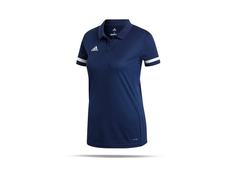 adidas Team 19 Poloshirt Damen (DY8863) - blau