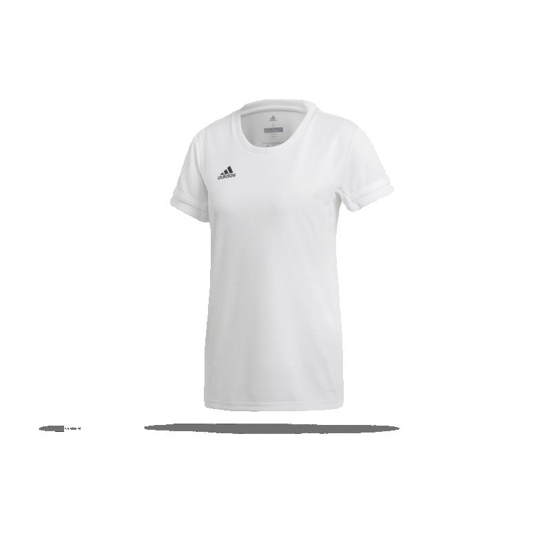 adidas Team 19 Trikot kurzarm Damen (DW6887) - Weiß