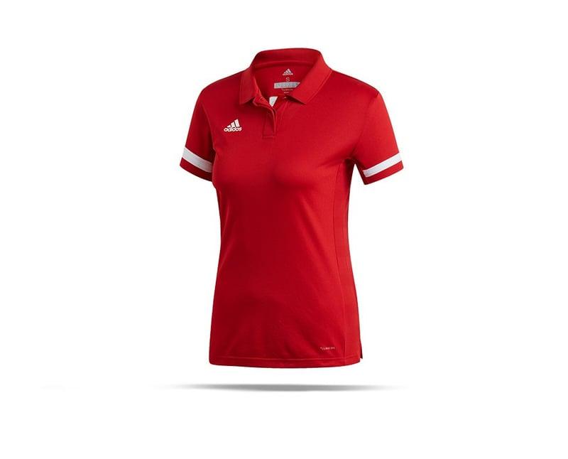 adidas Team Club 19 Poloshirt Damen - rot
