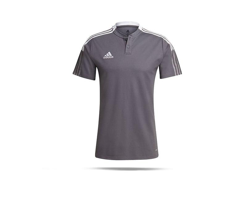 adidas Tiro 21 Poloshirt (GM7364) - grau