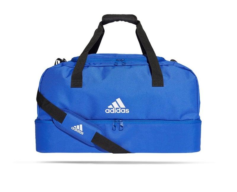 adidas Tiro Duffel Bag Tasche mit Bodenfach Gr. M (DU2004) - blau