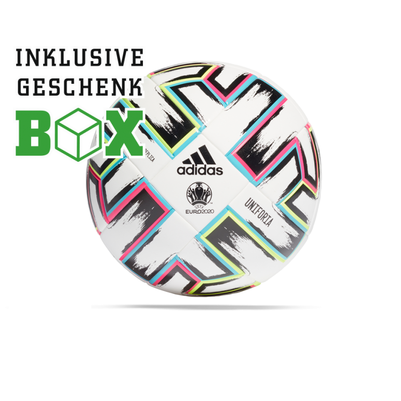 adidas Uniforia League Fussball EM 2020 GIFT BOX (FH7376) - Weiß