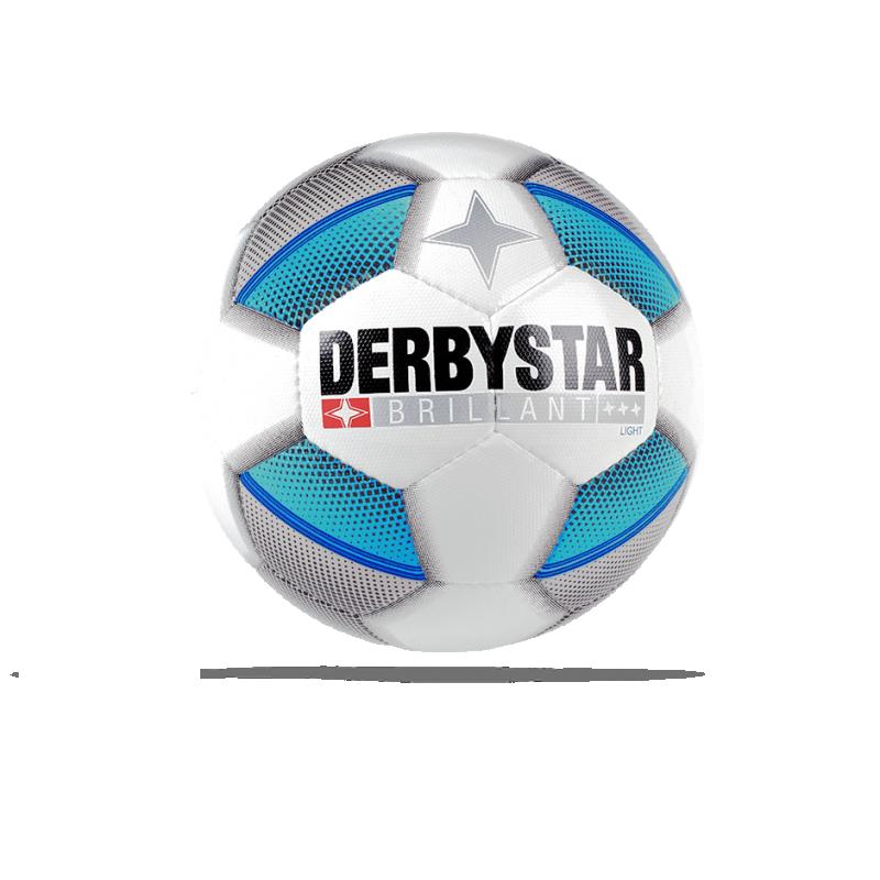 DERBYSTAR Brillant Light 350 g Fussball (162) - Weiß