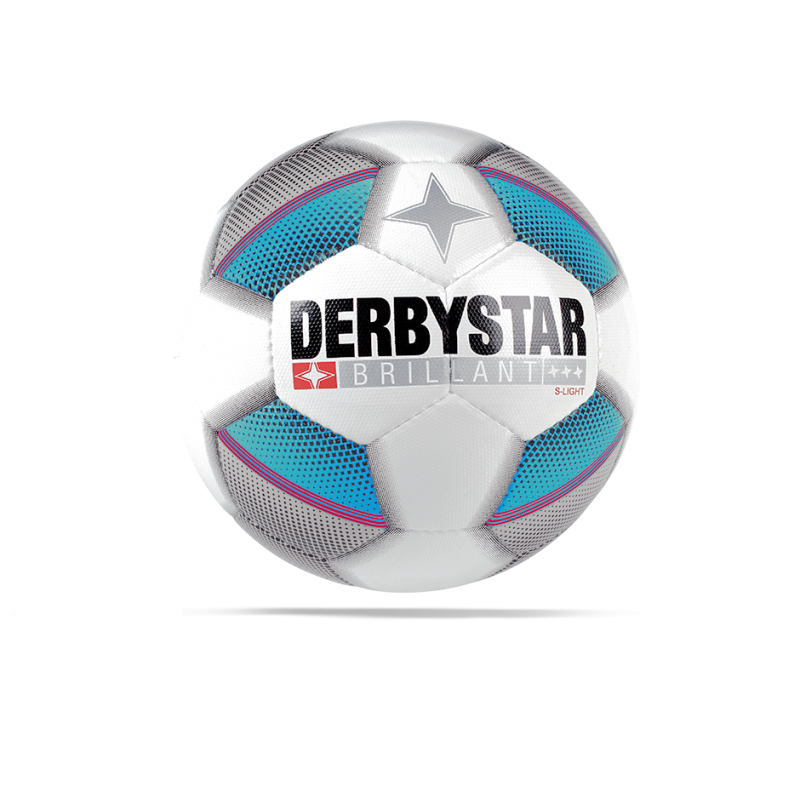 DERBYSTAR Brillant S- Light 290 g Fussball (162) - Weiß