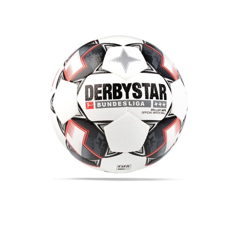 DERBYSTAR Brilliant APS Bundesliga Spielball 18/19 Gr. 5 - Weiß