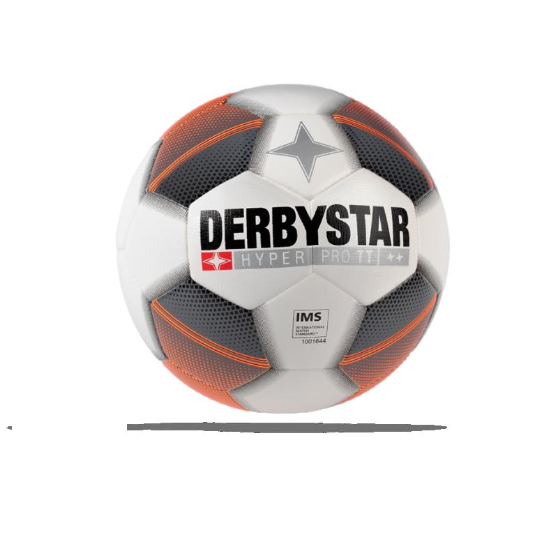 DERBYSTAR Hyper Pro TT Fussball Gr. 5 (179) - Weiß