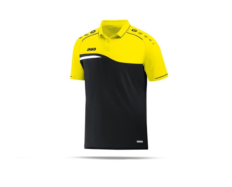 JAKO Competition 2.0 Poloshirt (003) - schwarz