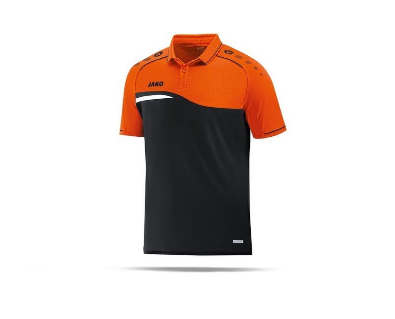 JAKO Competition 2.0 Poloshirt (019) - schwarz