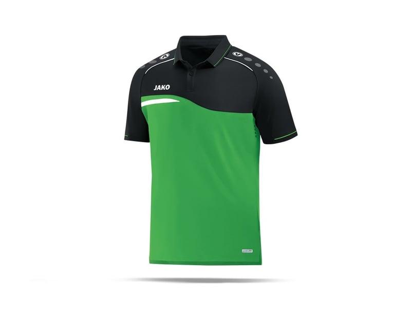 JAKO Competition 2.0 Poloshirt (022) - gruen