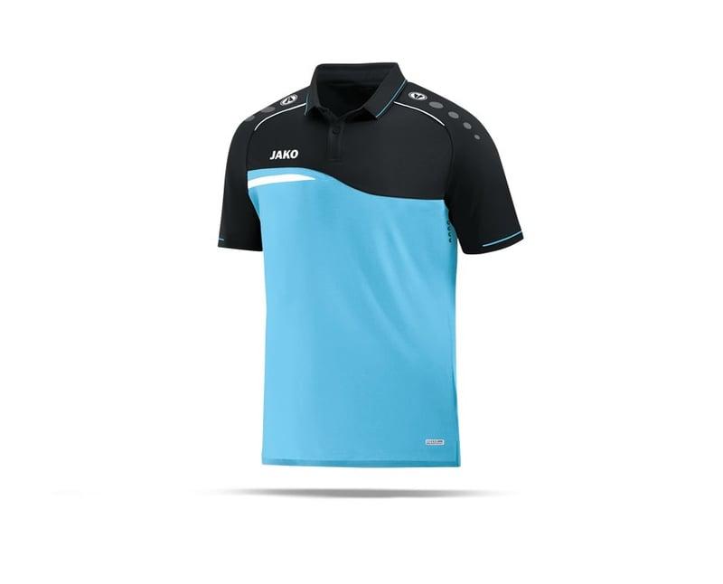 JAKO Competition 2.0 Poloshirt (045) - blau