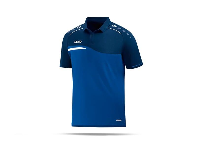 JAKO Competition 2.0 Poloshirt (049) - blau