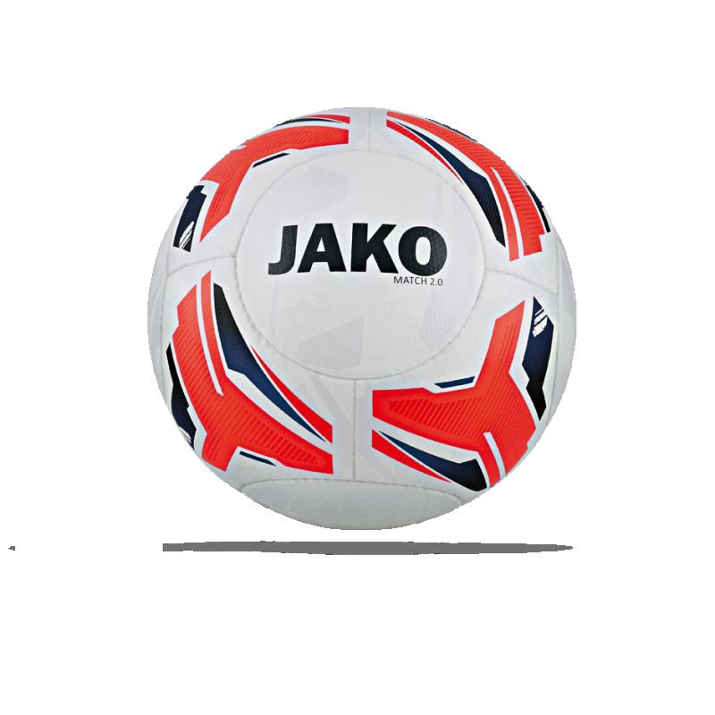 JAKO Match 2.0 Spielball Gr. 5 (000) - Weiß