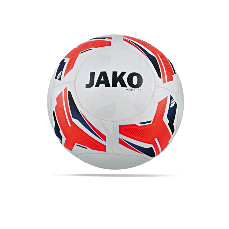 JAKO Match 2.0 Trainingsball (000) - Weiß