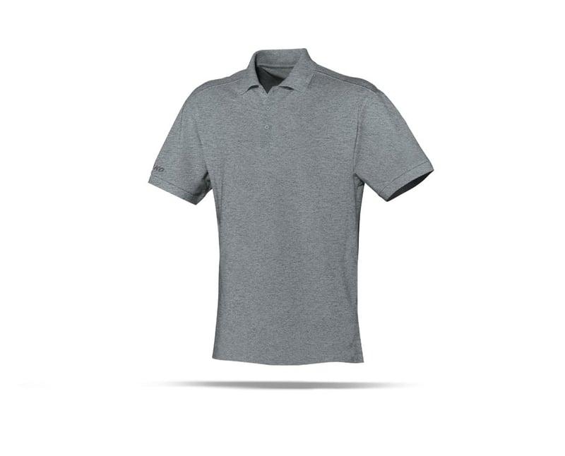 JAKO Team Polo Poloshirt (040) - grau