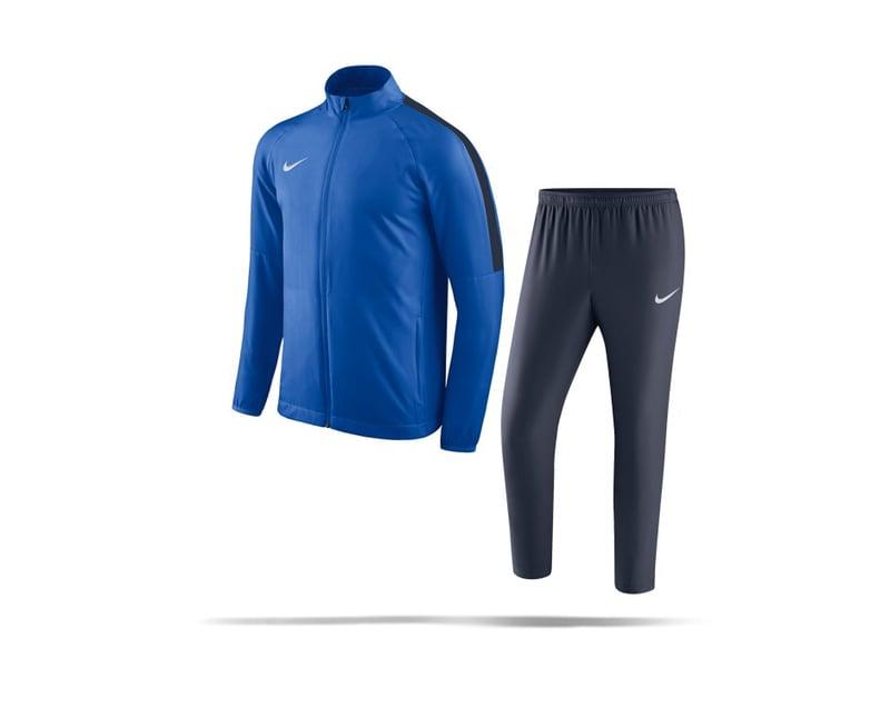 NIKE Academy 18 Woven Track Suit Anzug Kinder (463) - blau