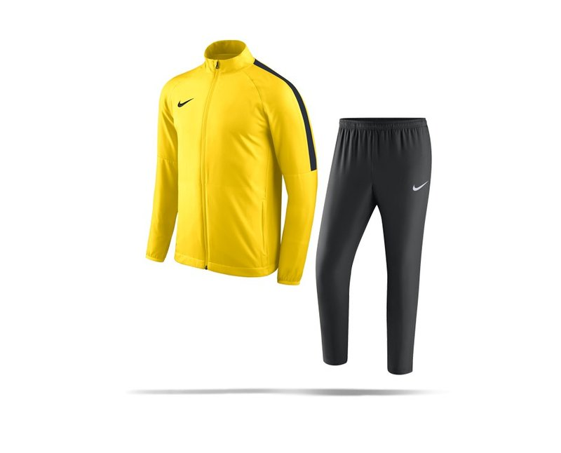 NIKE Academy 18 Woven Track Suit Anzug Kinder (719) - gelb