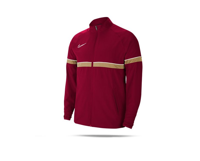 NIKE Academy 21 Woven Track Trainingsjacke (677) - rot
