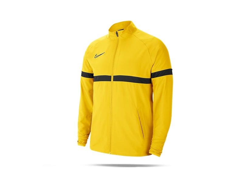 NIKE Academy 21 Woven Track Trainingsjacke (719) - gelb